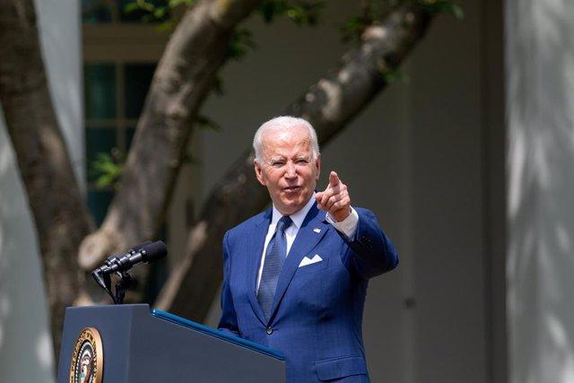 El presidente de Estados Unidos, Joe Biden.