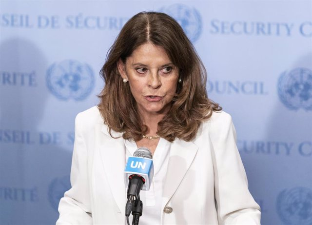 Ministra de Exteriores de Colombia, Marta Lucia Ramirez