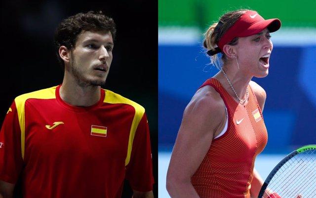 Pablo Carreño y Paula Badosa jugarán el dobles mixto