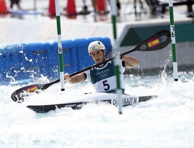 Maialen Chourraut intentará revalidar en Tokyo 2020 el oro olímpico en Río.