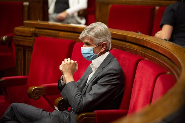Arxiu - El conseller de Salut de la Generalitat, Josep Maria Argimón, al Parlament