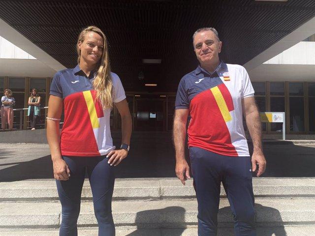 El presidente del CSD, José Manuel Franco, y su asesora Jennifer Pareja viajarán a Tokio para acompañar a los olímpicos españoles en los Juegos.