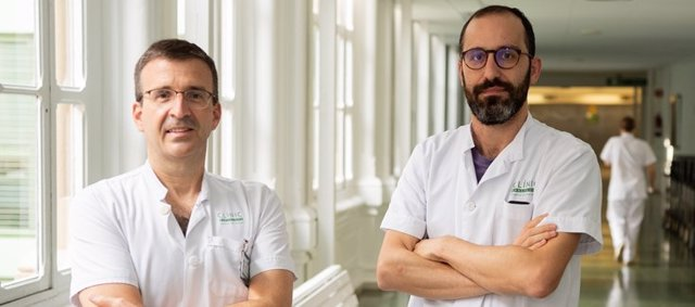Xavier Forns y Segio Rodríguez- Tajes