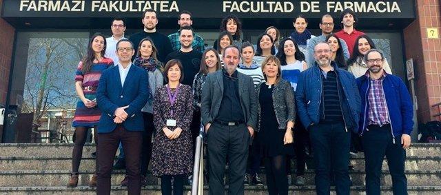 Investigadores del grupo NanoBiocel del CIBER-BBN y la Universidad del País Vasco