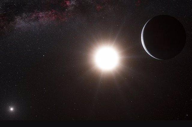 Planeta en un sistema binario