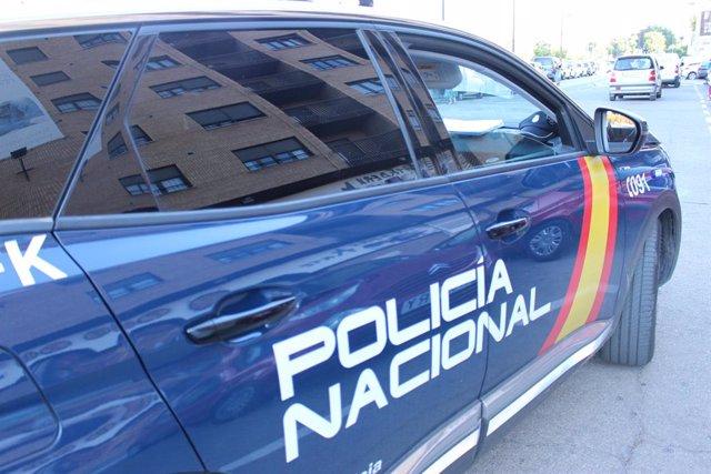 Imatge de recurs d'un vehicle de la Policia Nacional