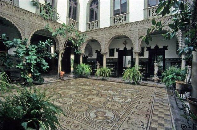 Patio de la Casa Palacio de la Condesa de Lebrija
