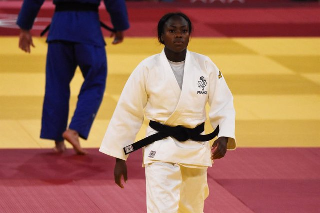 Clarisse Agbegnenou (FRA) women's -63kg Olympic champion during the Olympic Games Tokyo 2020, judo, on July 27, 2021 at Nippon Budokan, in Tokyo, Japan - Photo Yoann Cambefort / Marti Media / DPPI