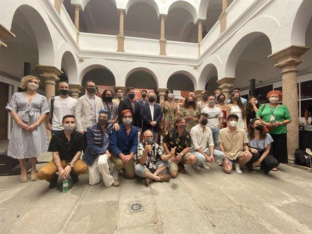 Presentación de 'Golfus de Roma', el próximo estreno del Festival de Mérida