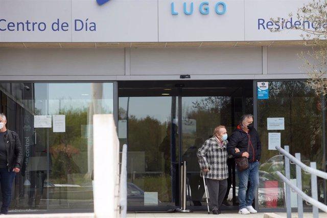Archivo - Una residencia de Lugo.