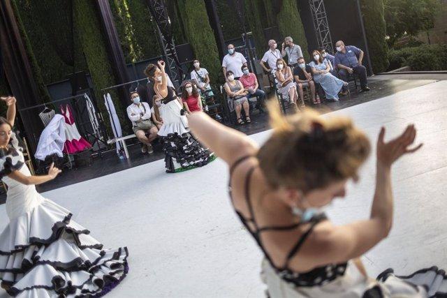 Lorca y Granada y el Ballet Flamenco se acercan a colectivos en riesgo de exclusión social