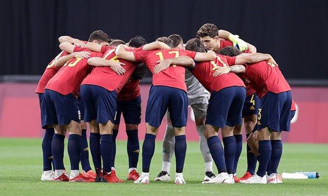 La selección española de fútbol en Tokyo 2020