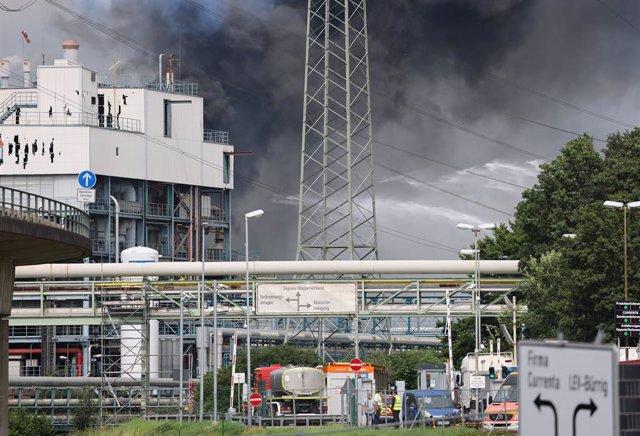 Explosió en una planta química de la ciutat alemanya de Leverkusen