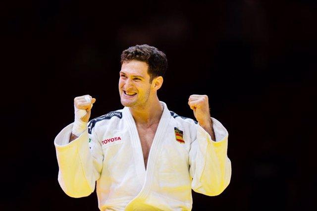 Archivo - Nikoloz Sherazadishvili of Spain during the IJF World Judo Championships 2021 on June 10, 2021 at Budapest Sports Arena in Budapest, Hungary - Photo Yannick Verhoeven / Orange Pictures / DPPI