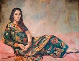 Una de las obras donadas al Museo de Bellas Artes de Badajoz