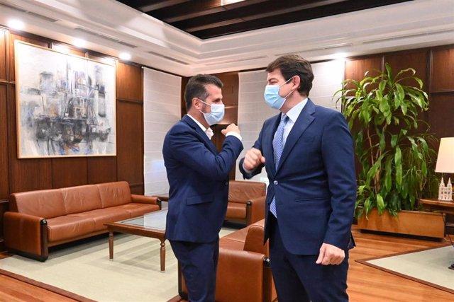 Reunión Mañueco y Tudanca
