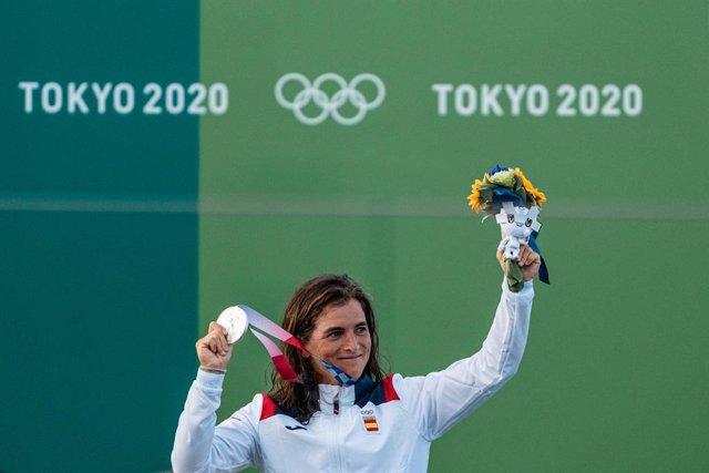 Maialen CHOURRAUT medalla de PLATA en la final olímpica de Kayak femenino de Piragüismo eslalon