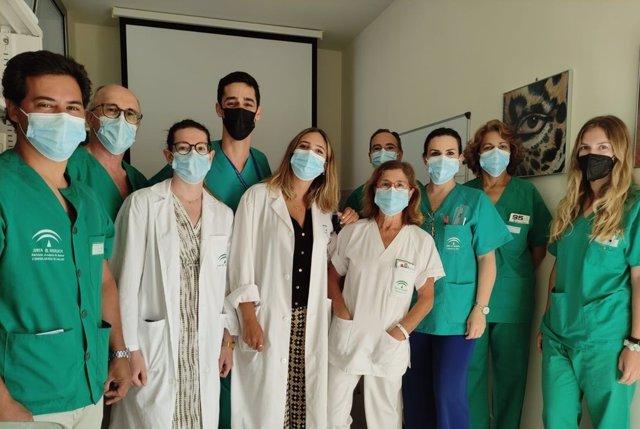 Unidad de Oftalmología del Hospital de Jerez.