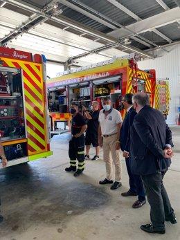 Presentación camiones de bomberos Nerja