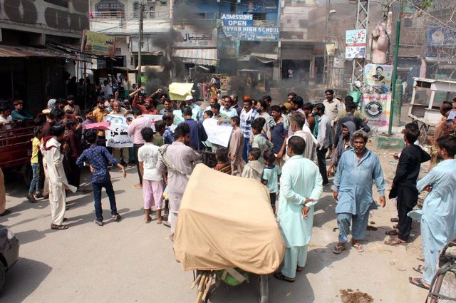 Imagen de archivo de una calle de Pakistán.