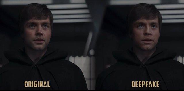Lucasfilm ficha al fan de The Mandalorian arregló el cameo de Luke Skywalker con Deepfake