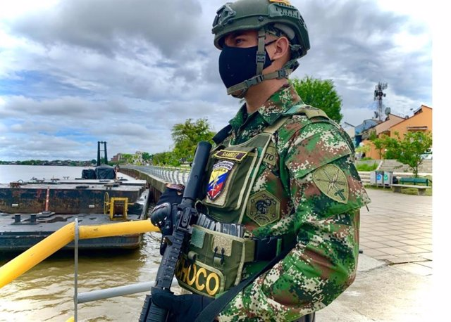 Un militar en Colombia