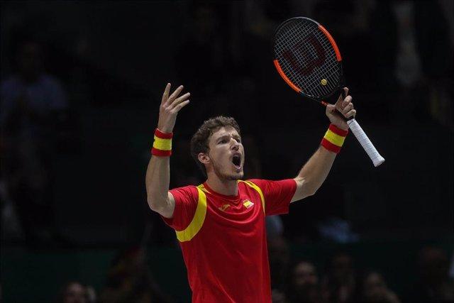 Archivo - El tenista español Pablo Carreño
