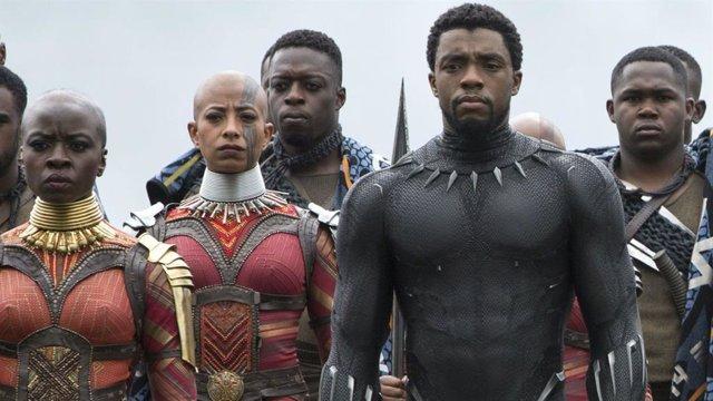 Chadwick Boseman en Vengadores Infinity War