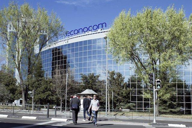 Archivo - Oficinas de Econocom en Madrid