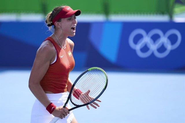 Arxiu - La tennista catalana Paula Badosa en els JJOO de Tòquio