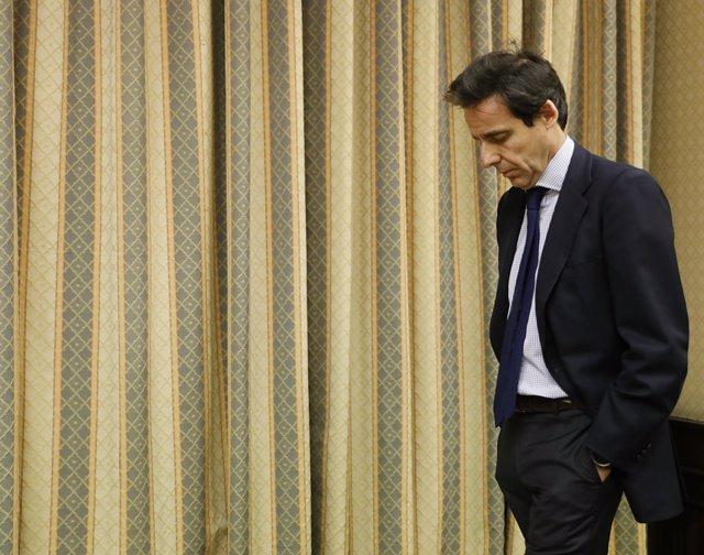 Archivo - El empresario Javier López Madrid comparece en la comisión sobre la presunta financiación ilegal del PP