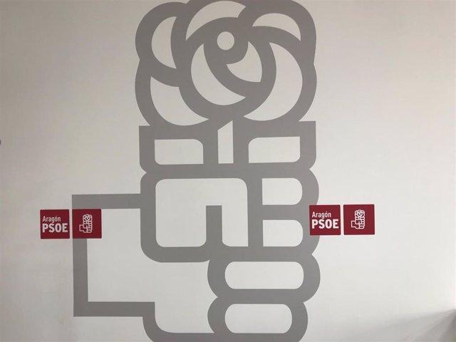 Archivo - Logo del PSOE Aragón