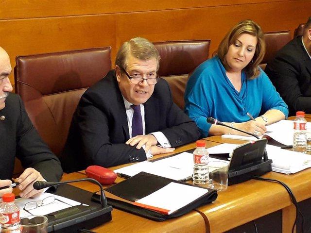 Archivo - El presidente de la Sala de lo Contencioso-Administrativo del Tribunal Supremo, César Tolosa.
