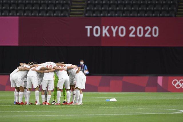 Arxiu - La selecció espanyola de futbol en els JJOO de Tòquio 2020