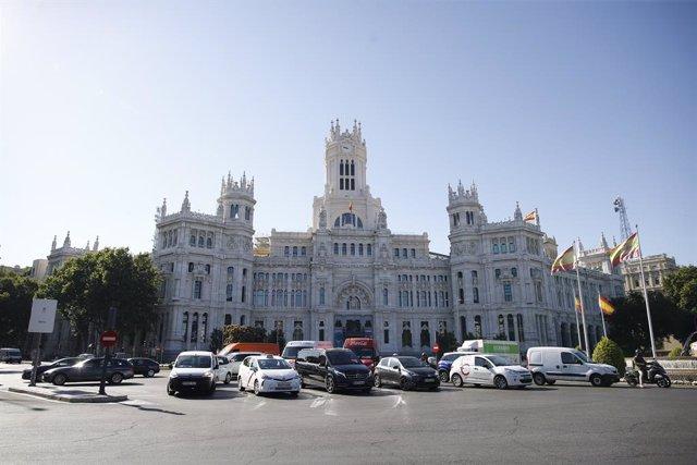 Archivo - Palacio de Cibeles, sede del Ayuntamiento de Madrid.