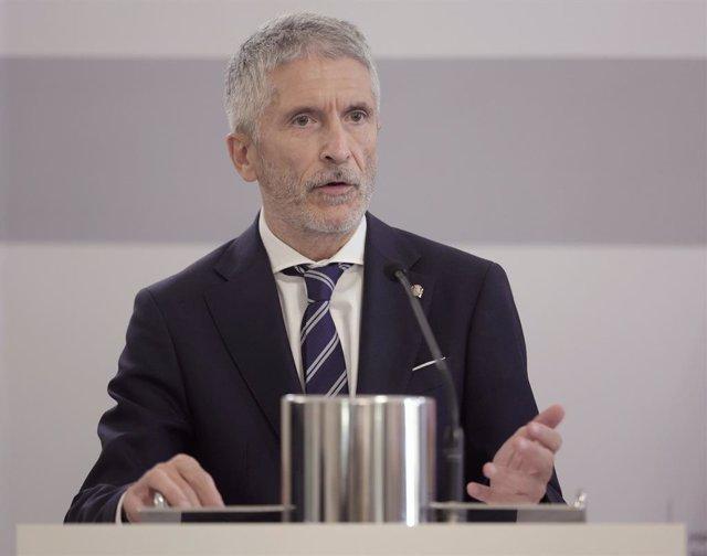 Arxiu - El ministre de l'Interior, Fernando Grande-Marlaska