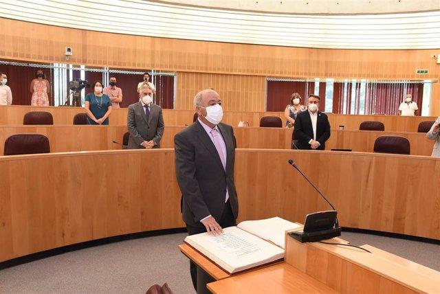 Juan Antonio Palomino ha tomado posesión de su cargo como diputado provincial en representación de las comarcas de la Alpujarra y El Valle.