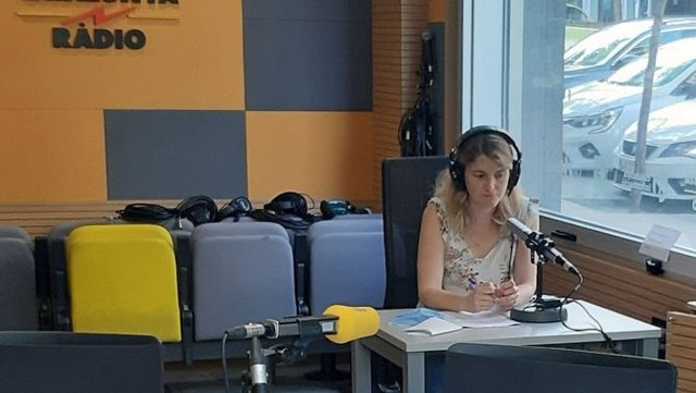 La periodista Gemma Bonet