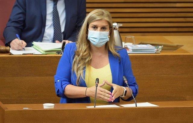 La Portaveu del GPP, Eva Ortiz,