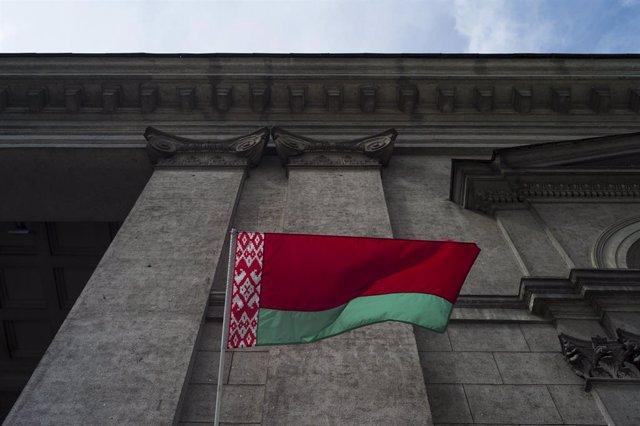 Archivo - Arxiu- Bandera de Bielorússia