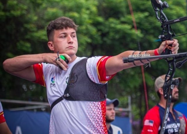 El arquero español Daniel Castro