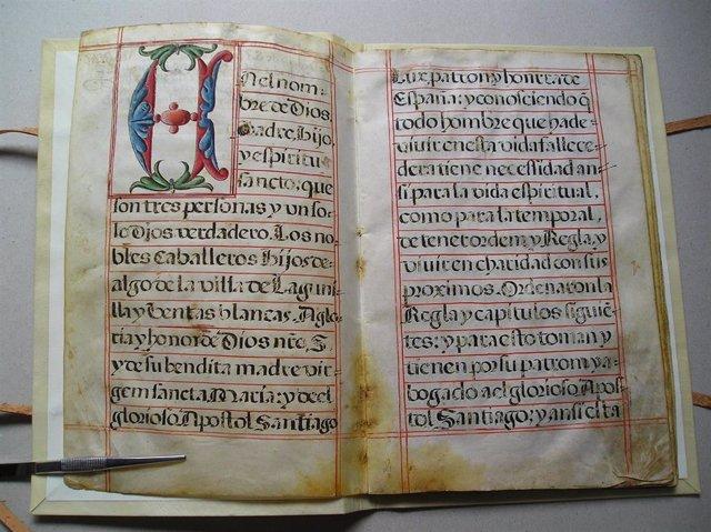 El IER completa la restauración de documentos históricos de Ajubarte, Anguiano, Arnedillo, Briñas, Briones, Ezcaray y Lagunilla de Jubera