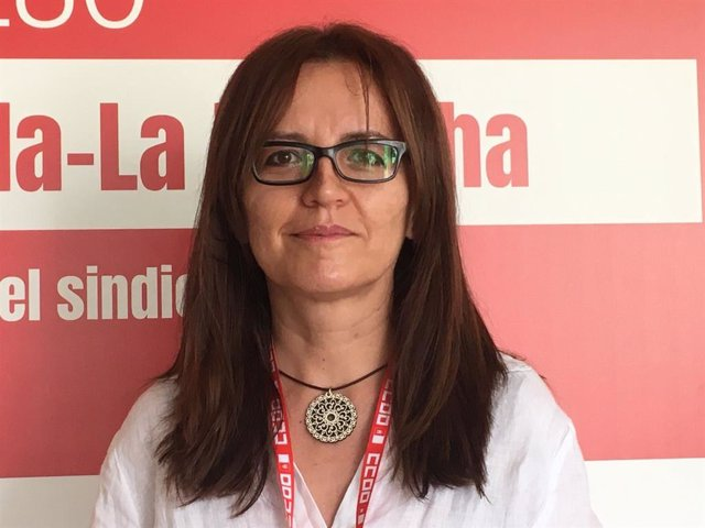 La secretaria de Protección Social, Agenda 2030 y Empleo de CCOO, María Ángeles Castellanos