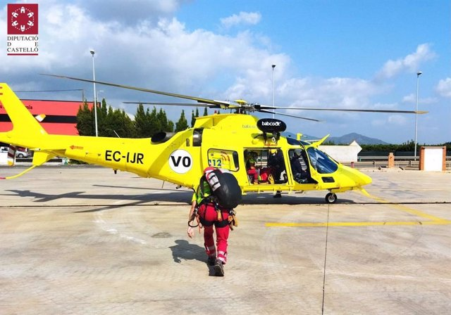 Rescatada una mujer de 65 tras sufrir una caída en una senda forestal en les Coves de Vinromà