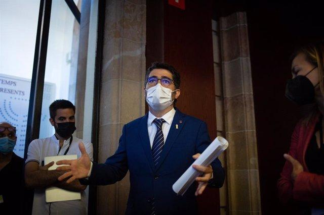 El vicepresident del Govern, Jordi Puigneró, al Parlament