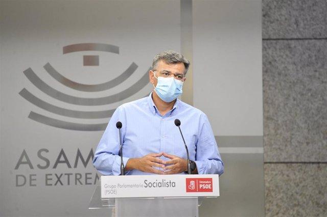 El diputado del Grupo Parlamentario Socialista en la Asamblea Juan Antonio González
