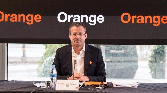 Archivo - Jean-François Fallacher, consejero delegado de Orange España