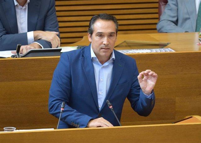 Archivo - Arxive - El portaveu d'Hisenda del PP en Els Corts, Rubén Ibáñez