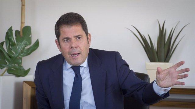 Archivo - El presidente de la Cámara de Granada y la CGE, Gerardo Cuerva
