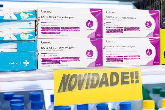 Test d'antígens que ven Mercadona a Portugal